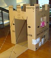 castillo facil de construir con carton para niños