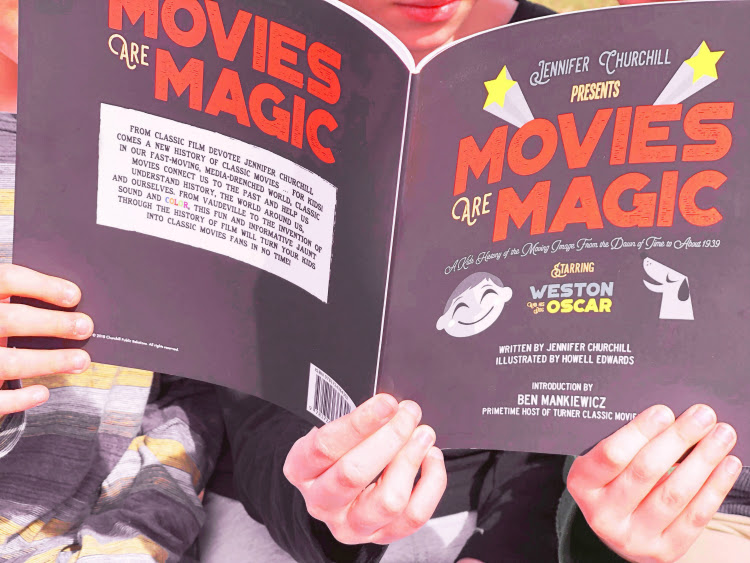 A Vintage Nerd, Movies are Magic Book, Old Hollywood Books, Classic Film Education, Vintage Blog, Classic Movie Blogger, Old Hollywood Book Recommendations