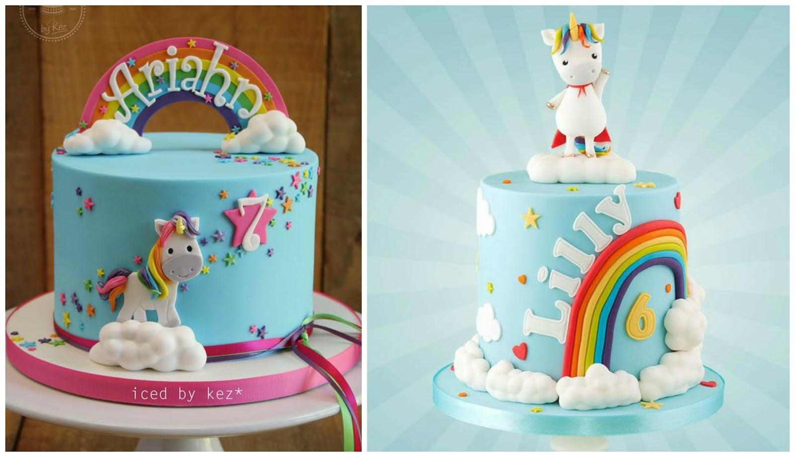 Unicorn Cakes Cake Kroger Planning A Rainbow Birthday Party