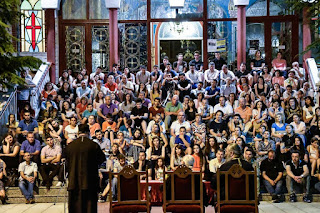 Ομιλία του Μητροπολίτη Λεμεσού κ. Αθανασίου σε νέους της Κατερίνης