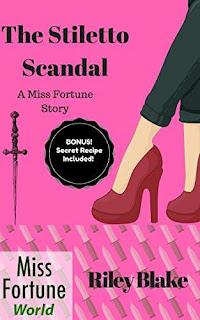 The Stiletto Scandal - A humorous cozy mystery kicks off the Louisiana Bayou series by Riley Blake