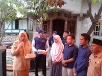 Bupati Berikan Bantuan Kepada Yayasan  Taman Madya Baiturahman dan Membuka Secara Resmi Program Literasi  di Desa Sondosia