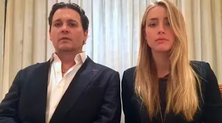 Johnny Depp dan Amber Heard (YouTube)