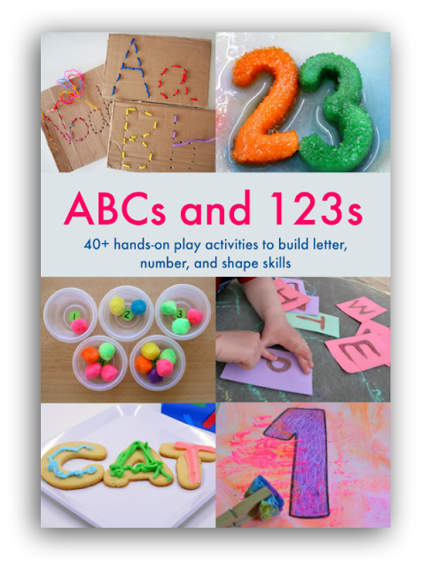 Multisensory, hand-on, creative and engaging activities to teach toddlers, preschoolers, kindergartners, and elementary students their ABCs and 123s.  Great activities for alphabet, numbers, literacy, and math learning!