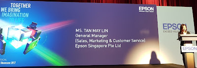 Tan talked about Epson's focus on details as a differentiating factor.