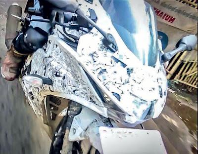 Suzuki GSX-R150 spyshot