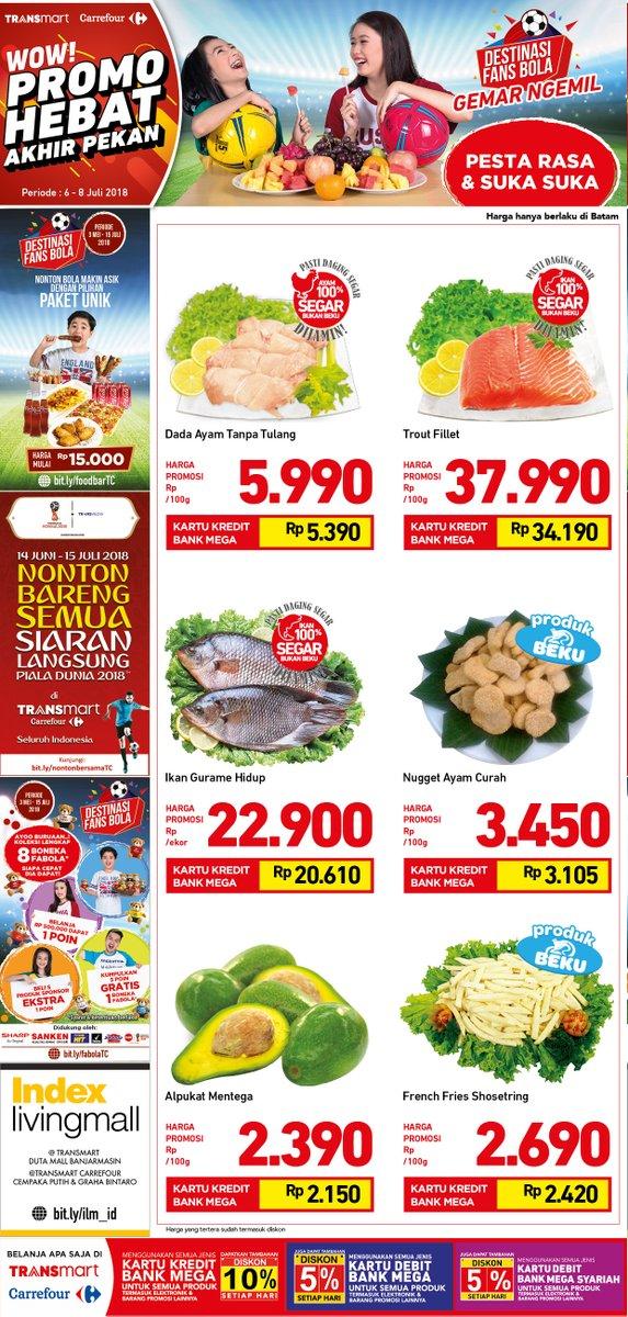 Carrefour - Katalog Promo Akhir Pekan Pesta Rasa Suka Suka ( s.d 8 Juli 2018)