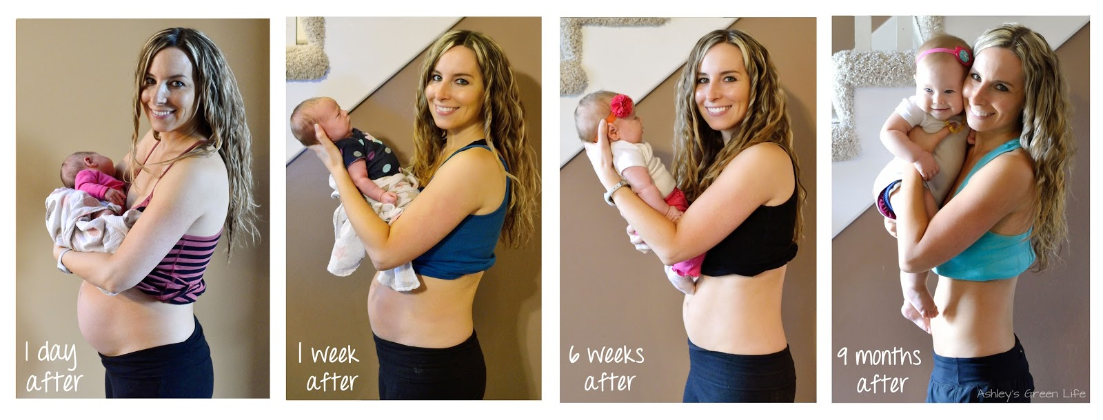 Ashley's Green Life: How I Got My Body Back After Baby