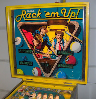 Flipper RACK EM UP de GOTTLIEB 1983