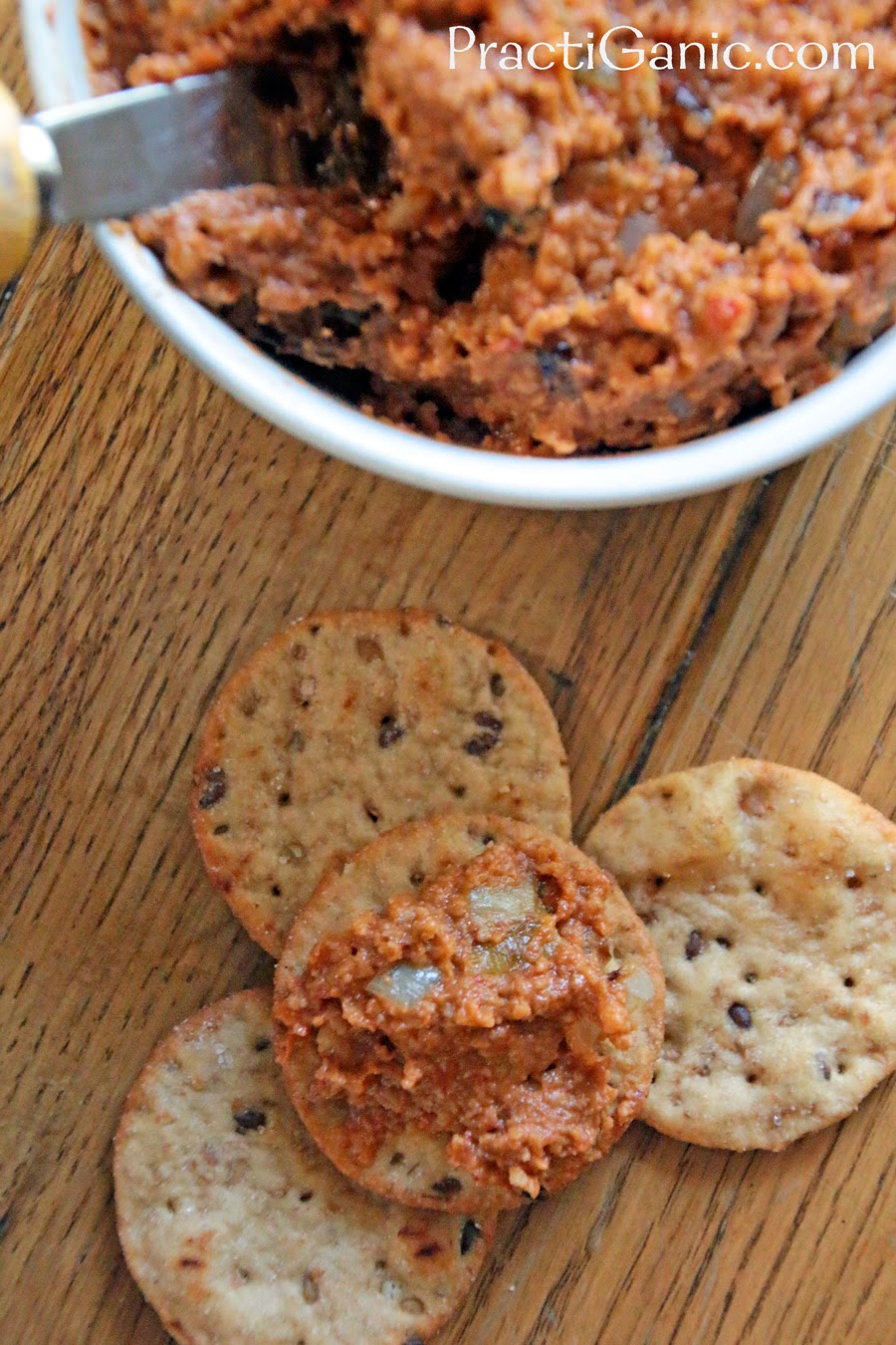 Pumpkin & Roasted Red Pepper Dip