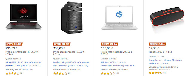 ¡Chollos 29_10 Amazon! Seis Ofertas del Día y cuatro Flash
