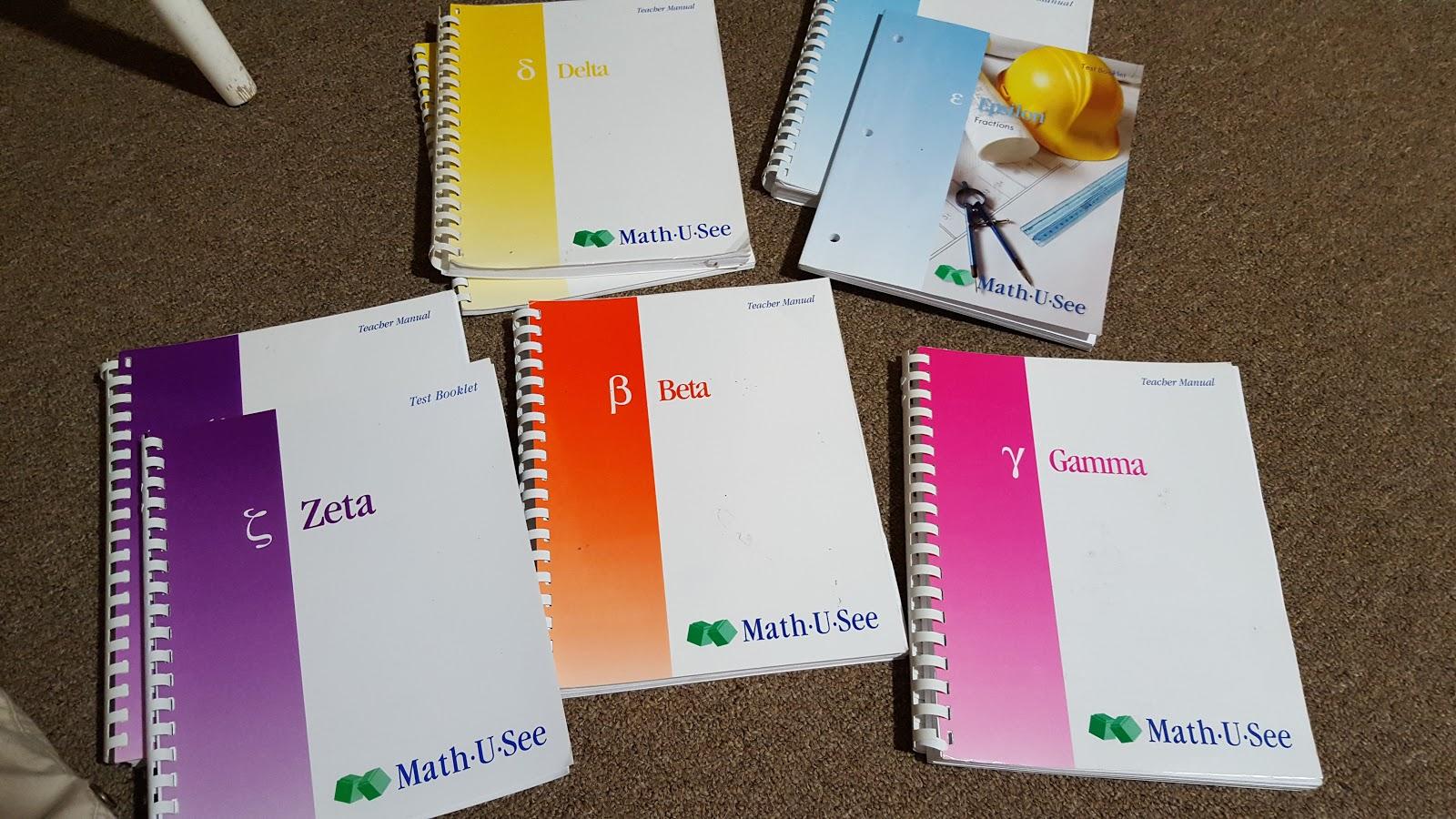 Math U See Epsilon 2009 Set: Instruction Manual, Test Booklet, Fractions DVD
