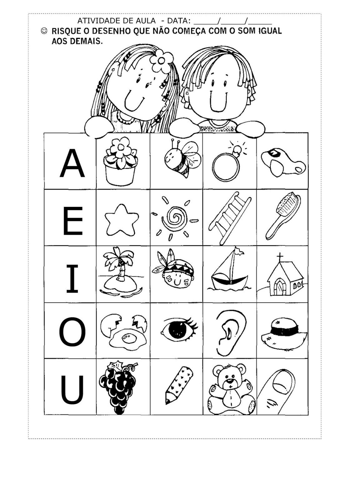 Foldable Ear Worksheet