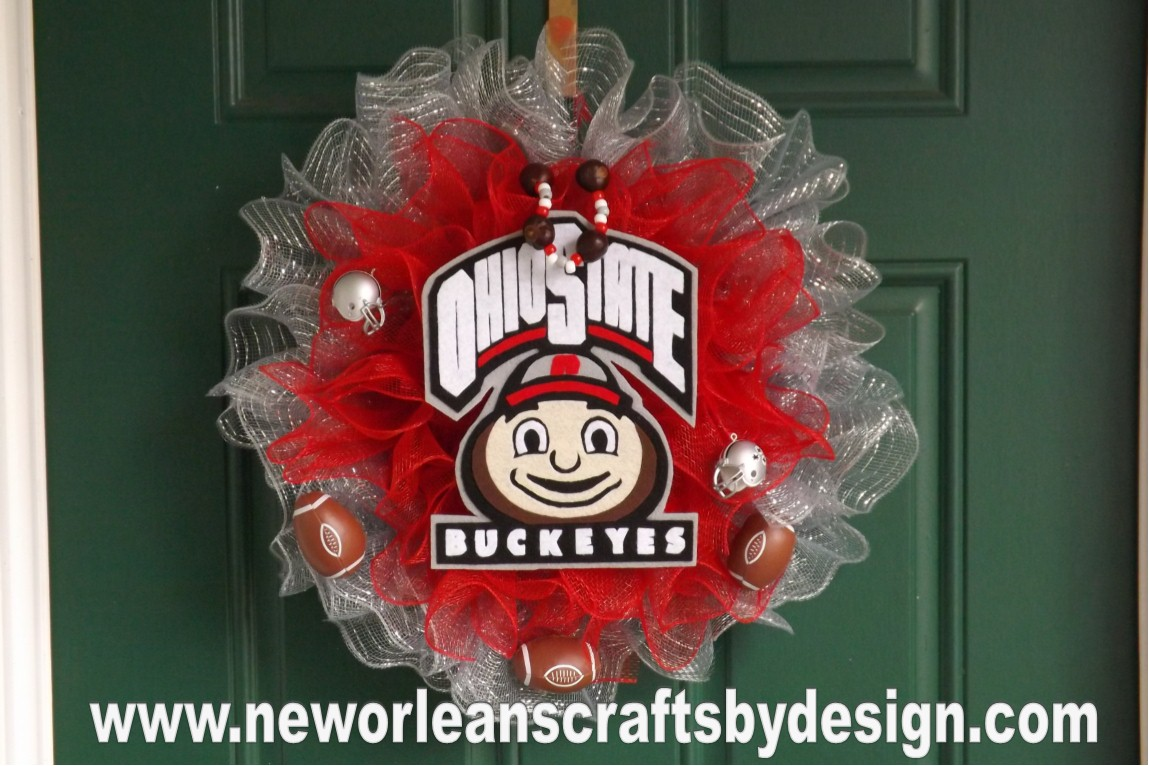 New Orleans Crafts By Design Ohio State Buckeyes Scarlet