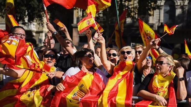 Barcelona rally demonstrator