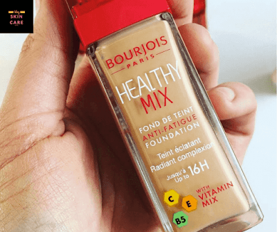 ourjois healthy mix foundation فونديشن بورجوا هيلثى ميكس