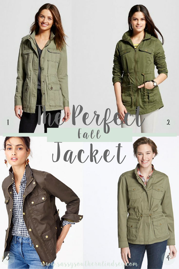 The Perfect Fall Jacket