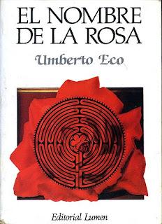 Portada de El nombre de la rosa libro epub pdf