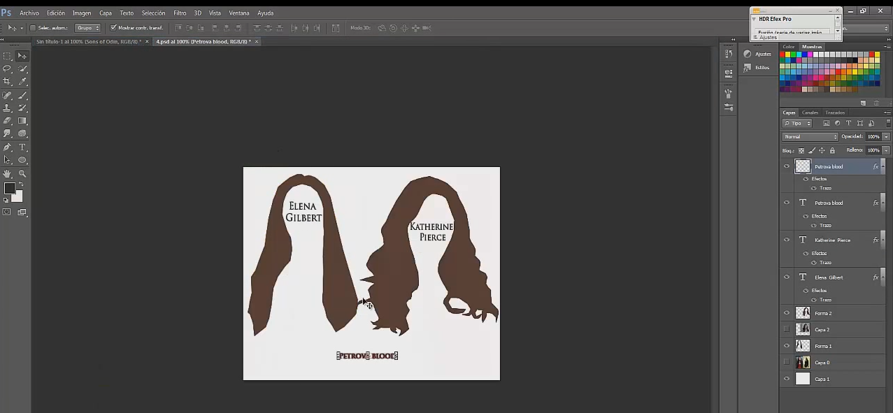 ¿Como vectorizar en photoshop cs6?
