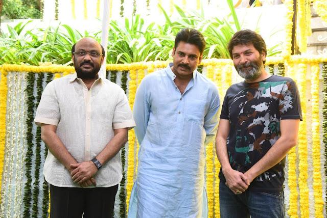 Pawan kalyan Trivikram New movie Launch : HD Photos