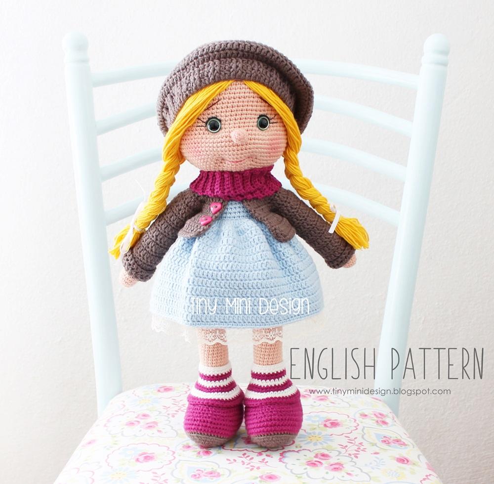 Amigurumi Tonton Doll-Free Pattern - Amigurumi Free Patterns