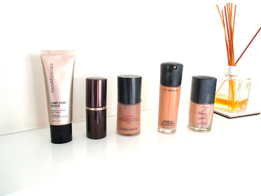 My Current Favourite Foundations!