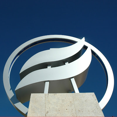 Image of Rio Salado College monument