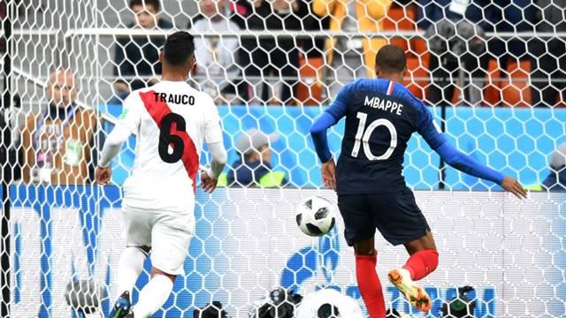 Prancis vs Peru - Piala Dunia 2018