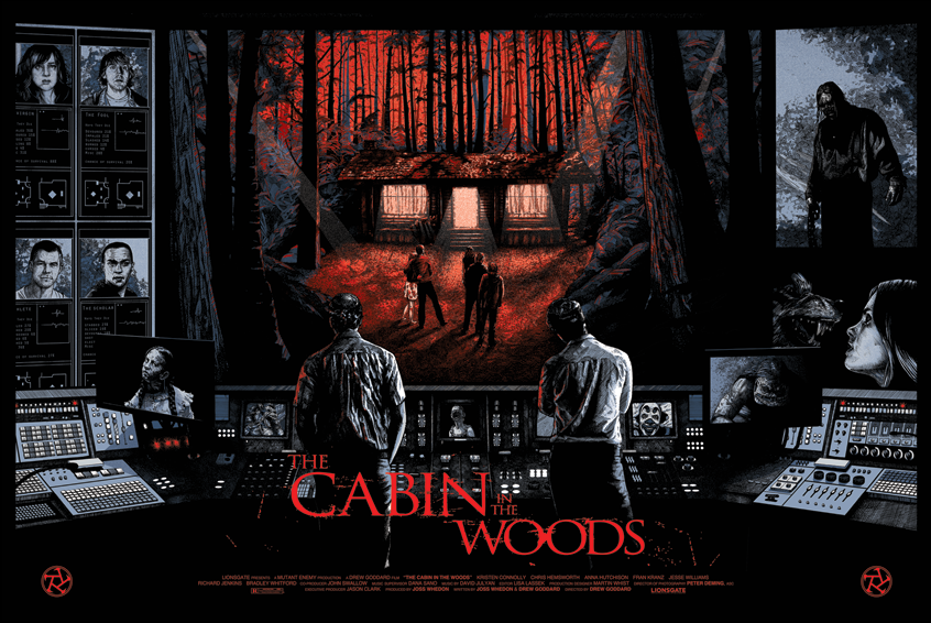 filme de horror e sangue o segredo da cabana the cabin in the woods