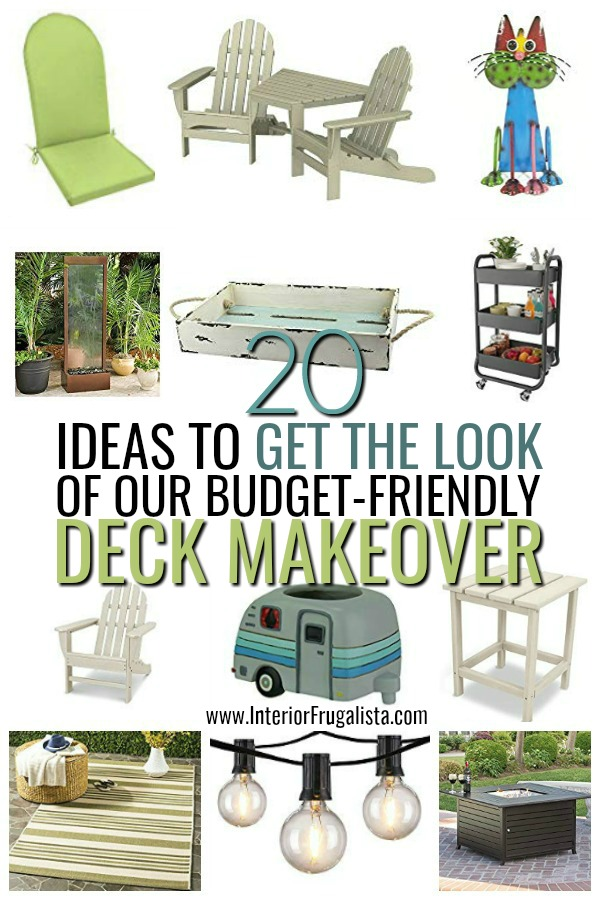 Get The Look Deck Makeover Ideaa