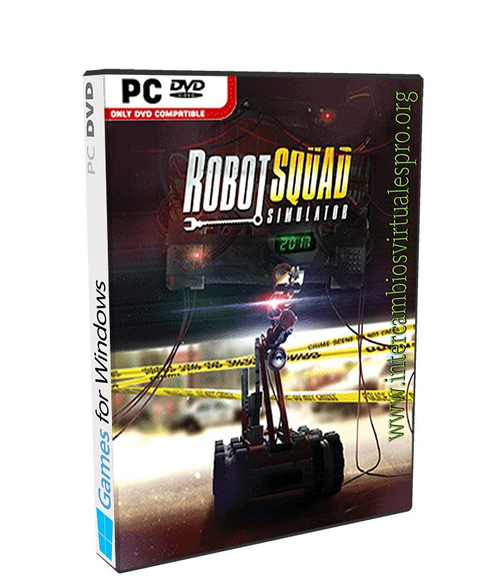 Robot Squad Simulator 2017 poster box cover