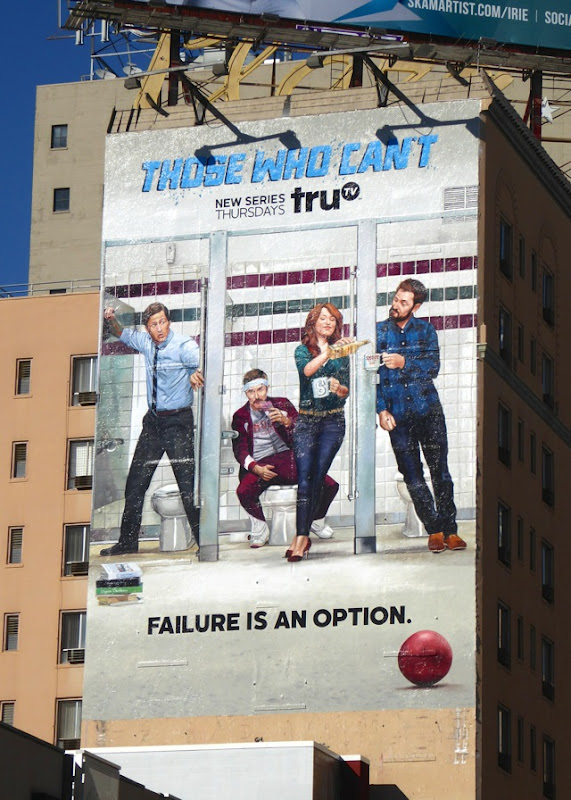 Those Who Can't TV series billboard