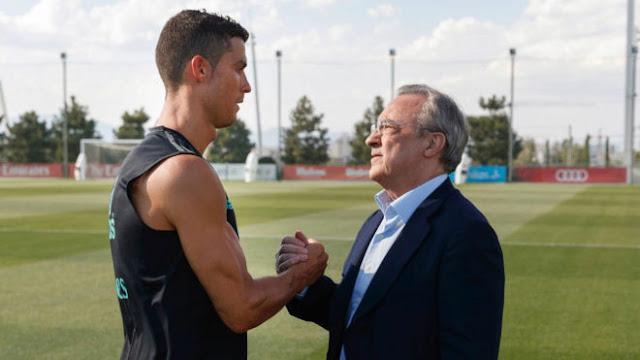 """Ronaldo """"châm dầu vào lửa"""" ở Real: Kể tội """"Ông trùm"""" Perez 2"""