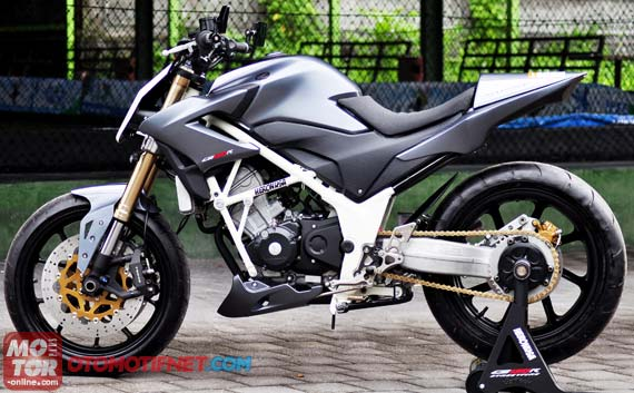 Modifikasi Honda CB150R Street Fighter  Gambar Modifikasi