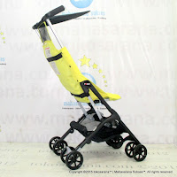 CocoLatte CL688 Lightweight Baby Stoller Fluorescent Yellow