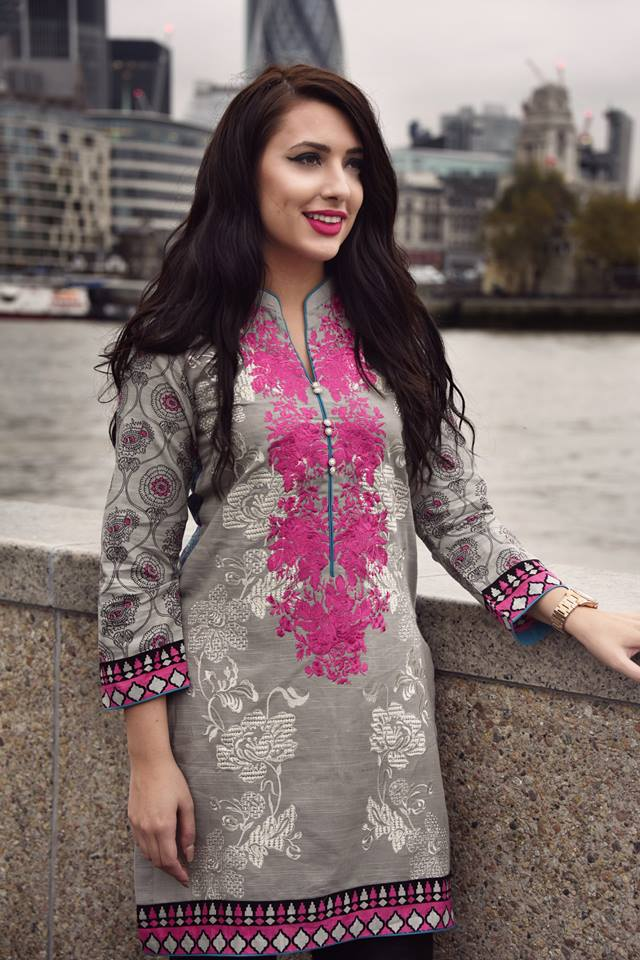 770a39878381 Nimsay Khaddar Embroidered Winter Dresses 2016-2017 For Women - She ...