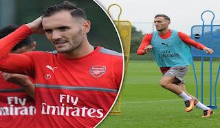 Lucaz Perez Ingin Hengkang dari Arsenal