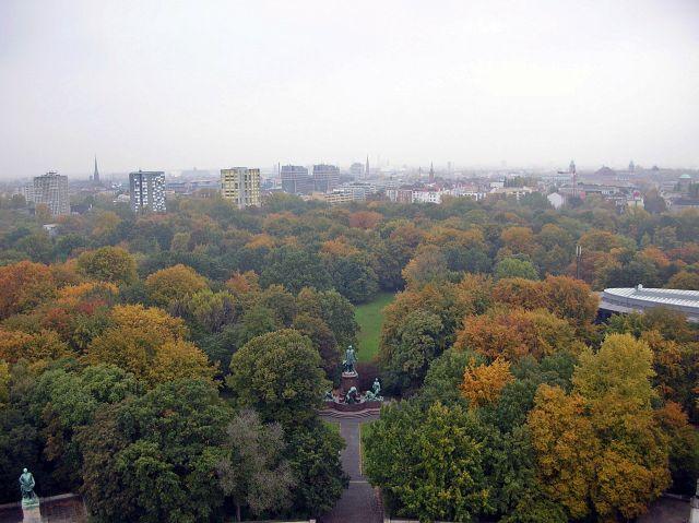 Berlin, zabytki, zieleń, parki