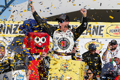 Harvick Double Downs At Vegas - #NASCAR