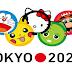 Personajes de anime y videojuegos promueven los juegos olímpicos Tokio 2020