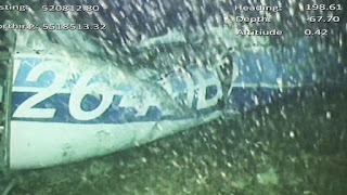 A body has been seen in the underwater wreckage of the plane that was carrying footballer Emiliano Sala and pilot David Ibbotson.