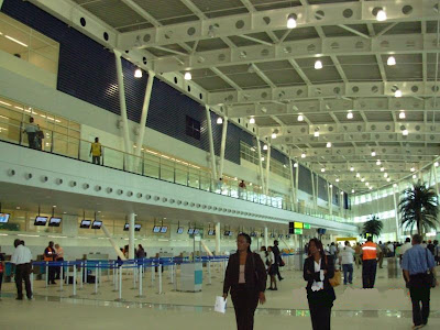 Aéroport de Saint Martin sxm Juliana intérieur
