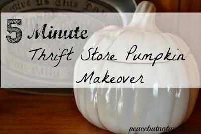 #thriftstoremakeover, #thriftstorepumpkin, #diypumpkin