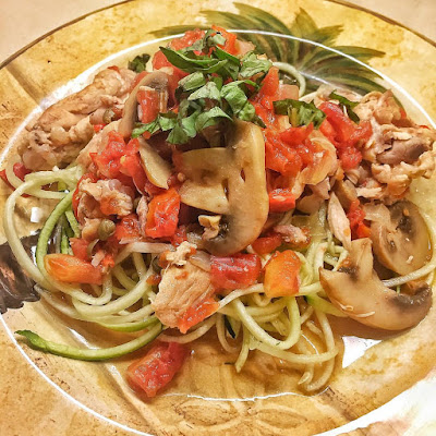 whole 30, recipes, chicken cacciatore, clean eating, dinner, italian, dairy free, gluten free