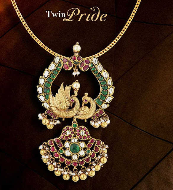 Antique Temple Jewellery by SVTM