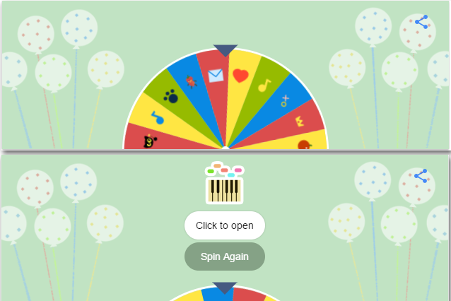 Google-19th-birthday-spin wheel-doodle