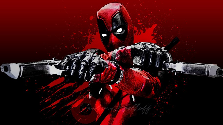 Deadpool, Guns, Marvel, Anti-Hero, 4K, #6.1312