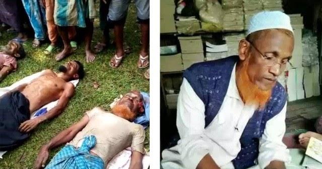 Biadab! Ulama Terkemuka Rohingya Syeikh Faizul Islam Ditembak Mati Tentara Myanmar