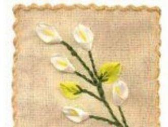 Flores Bordadas En Liston Cositasconmesh
