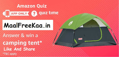 Camping Tent quiz